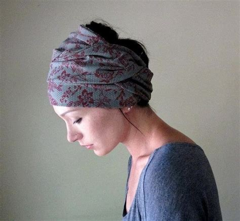 simple hair bandana for covering patch of bald head for ladies my victorian heart head scarf vintage inspired hair wrap hair accessories for women