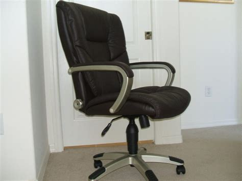 leather office armchair used leather office chairs office and bedroom leather