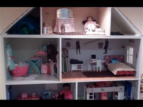 american girl doll house tour videos amazing american girl doll house updated tour youtube
