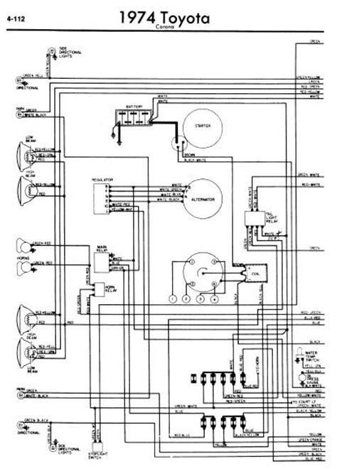 1977 toyota corona wiring diagram wiring diagram not