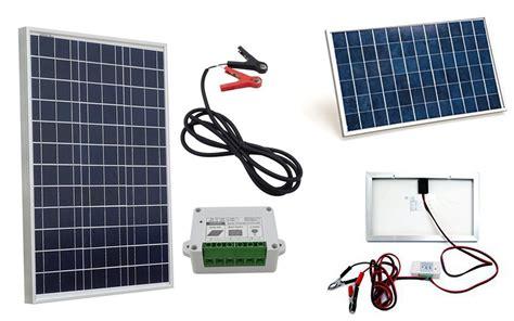 small solar panel kit small solar panel kits eco worthy 10w 20w and 50w small