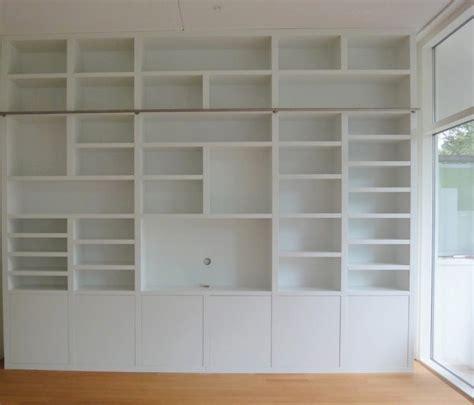 libreria a parete librerie su misura in legno