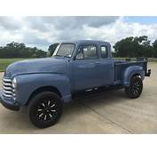 1953 Chevy Extended Cab 4x4 Pickup  Vintage Mudder