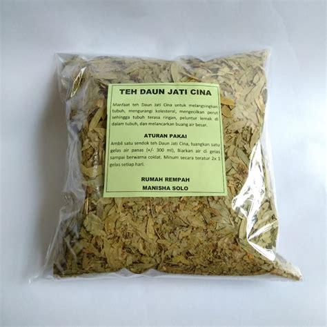 Daun Jati Belanda 250 Gram teh pelangsing daun jati cina daun senna kemasan 250gr rumah rempah manisha