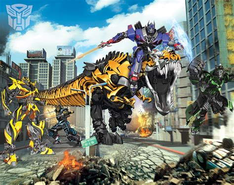 transformers wall mural competition win a transformers mural from fads