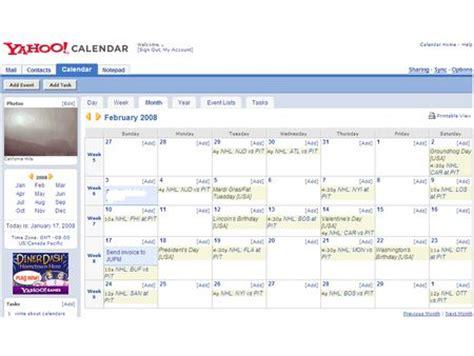 Calendar Yahoo Yahoo Calendar Pictures Calendar Template 2016