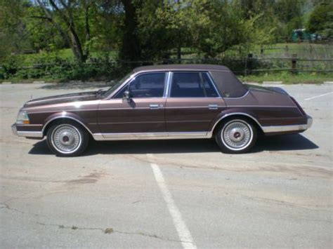 1987 lincoln continental purchase used 1987 lincoln continental givenchy sedan 4