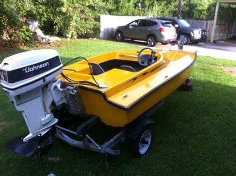 mini jet boat hull baja scat cat mini boat runs great fast fun the hull