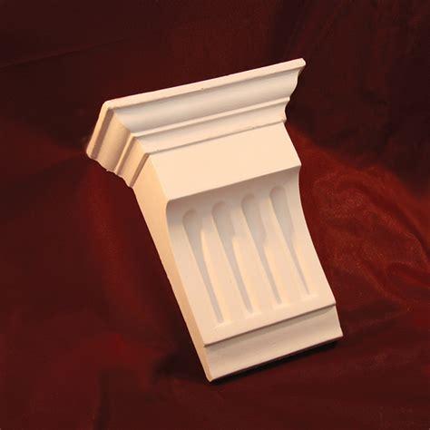 Column Corbel Column Corbel With Large Acanthus Leaf Design