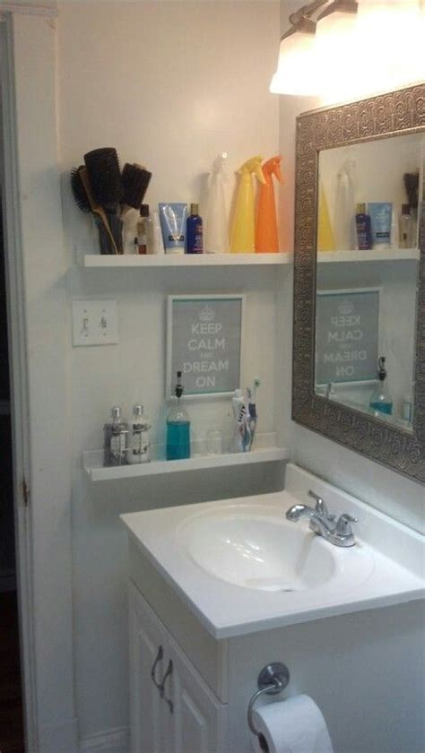small bathroom wall shelves 29 ideas to use ikea ribba ledges around the house digsdigs