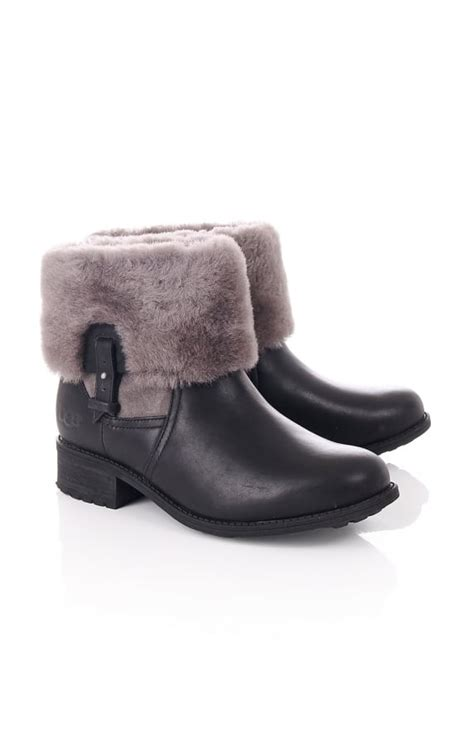 ugg boots with fur cuff