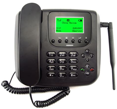 the gsm business phone appears to be landline but accepts