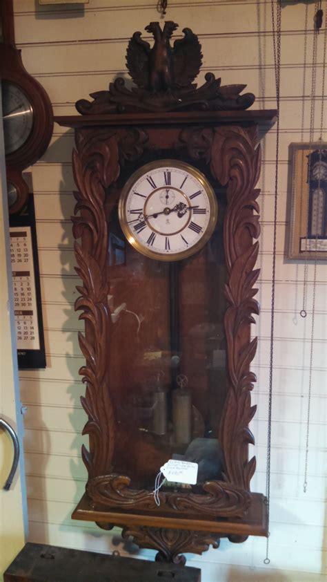 gustav becker vienna regulator wall clock for sale - Gustav Becker