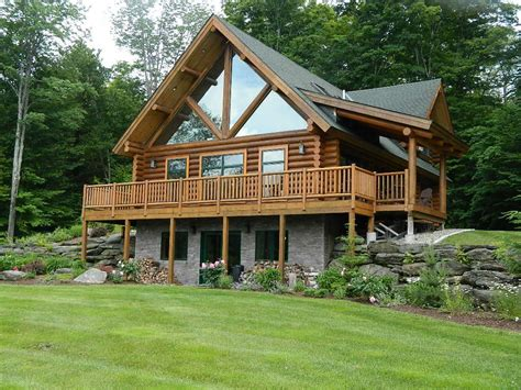 true vermont log cabin mountain views vrbo