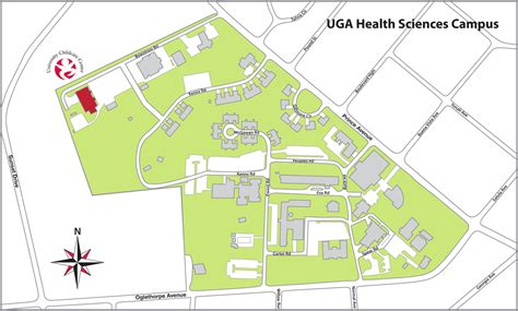 uga map location child care center