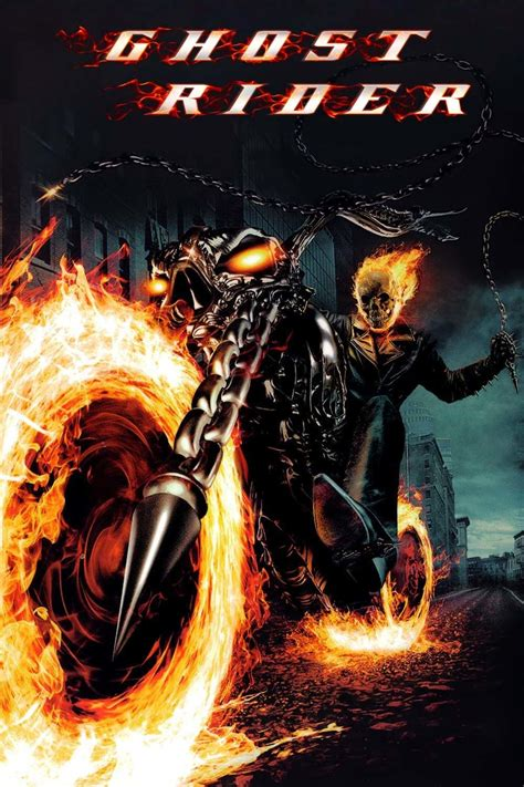 film of ghost rider ghost rider 2007 posters the movie database tmdb