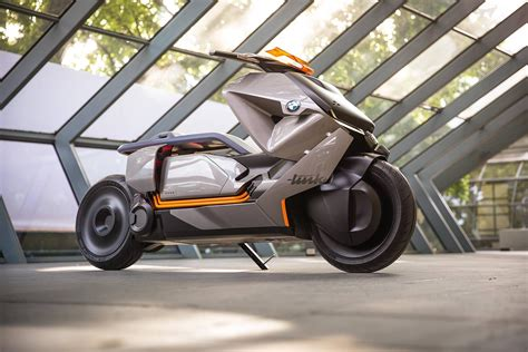 Bmw Motorrad Electric by Bmw Motorrad Revealed Electric Scooter Concept Link
