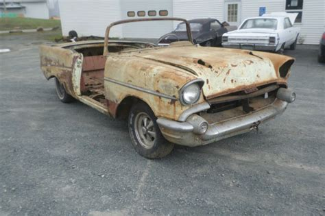 57 chevy bel air convertible project car for sale autos post