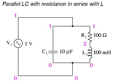 parallel resonant inductor resonance in series parallel circuits resonance ac circuits
