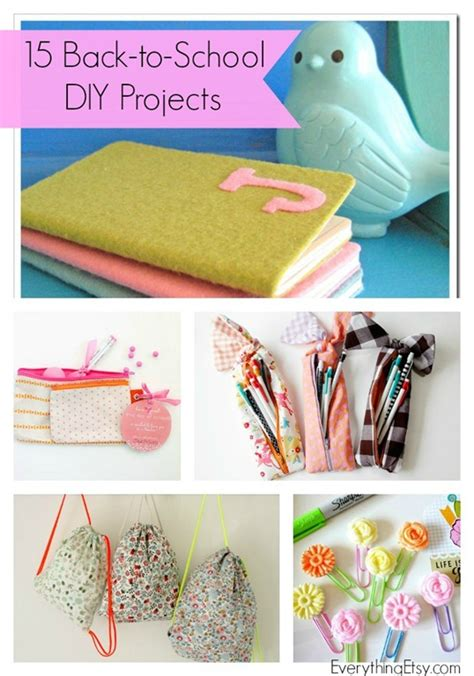diy projects for high school 15 back to school projects diy ideas