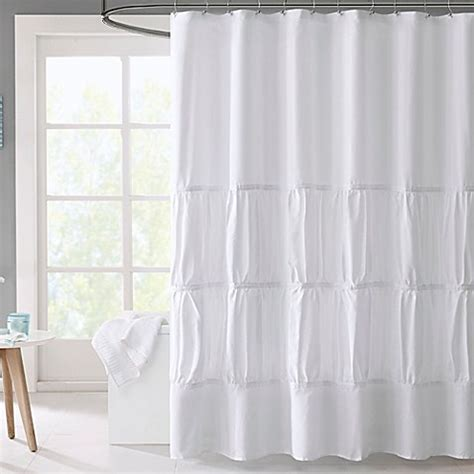 microfiber shower curtain mi zone mirimar microfiber shower curtain bed bath beyond