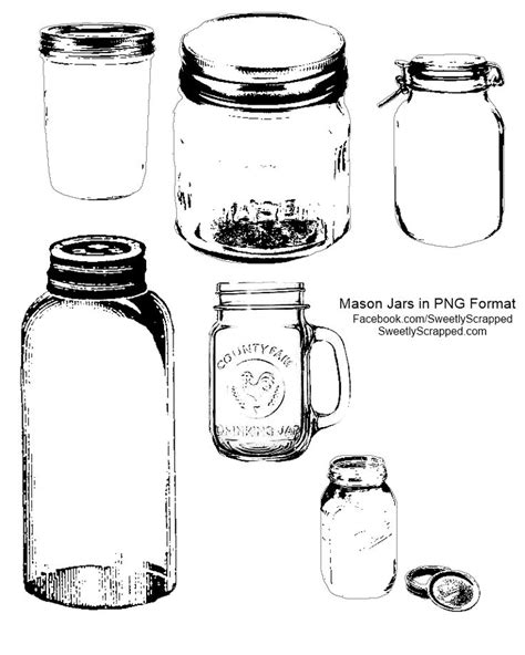 free printable templates for jars 211 best digital sts images on pinterest