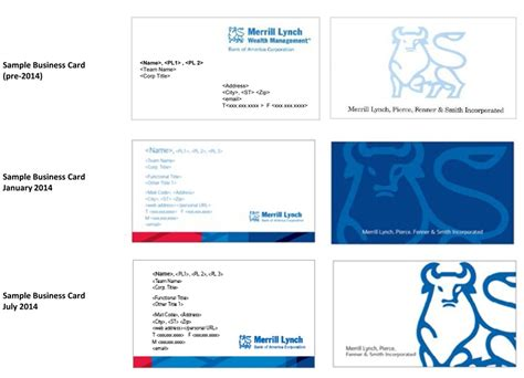 bank of america business cards merrill brokers new business cards business insider