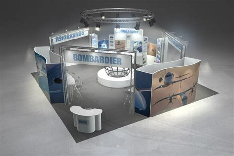 booth design canada large booth design exposystems canada exhibits and