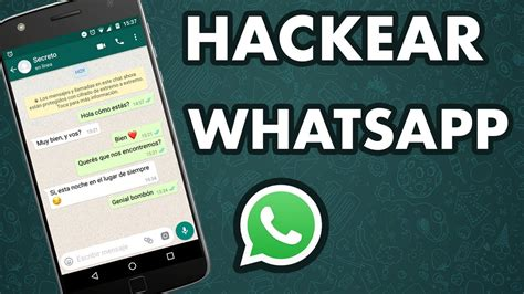 tutorial para hackear whatsapp hackear whatsapp s 243 lo con el n 250 mero sin el celular de la