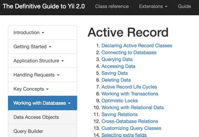 yii2 tutorial activerecord how to program with yii2 activerecord