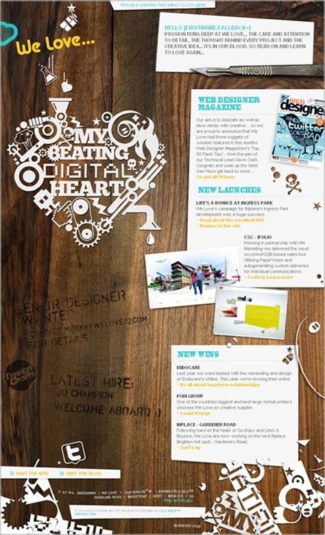newsletter layout inspiration 24 best customer communication inspiration images on