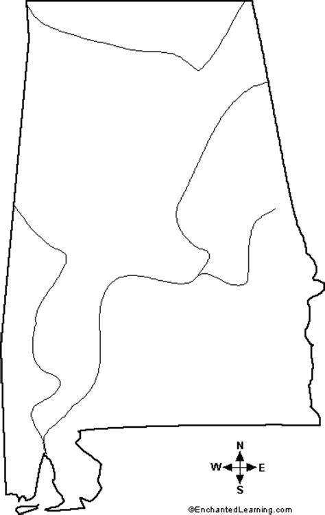 alabama map outline blank map of alabama rivers