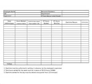 overtime log template how to make overtime sheet in excel time sheet in excel