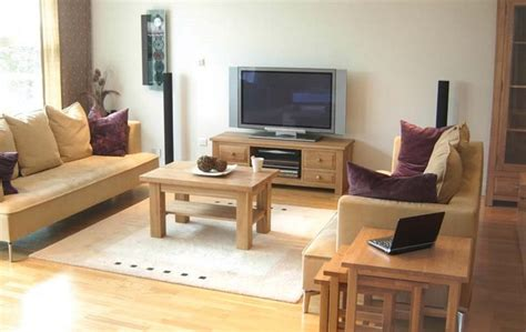 Living room tv cabinets 2 wooden tables living room furniture fur rug