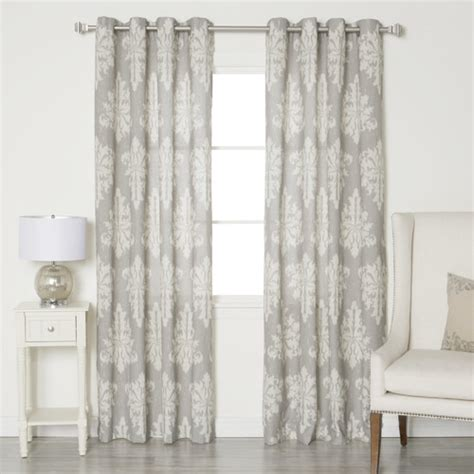 Best Home Fashion Inc Linen Blend Grommet Top Curtain