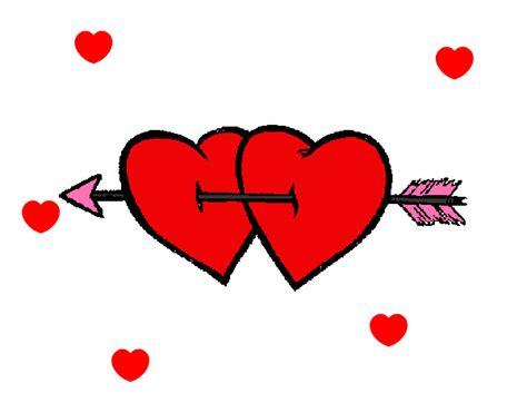 imagenes de corazones con flechas corazones con flechas y alas imagui