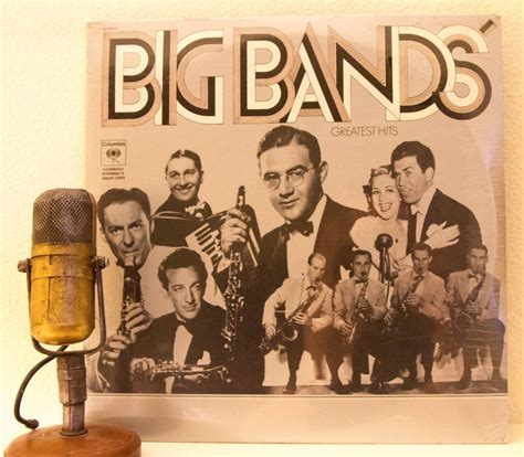 swing band songs big band vinyl record album lp 1930 s big band swing