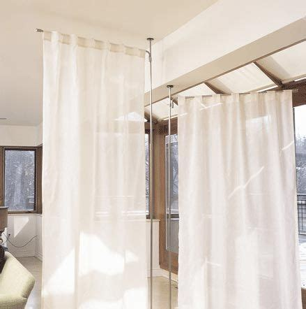 curtain rods that swing open anywhere telescoping curtain system from umbra porch