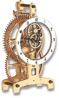 Wooden Clock Plans Dxf