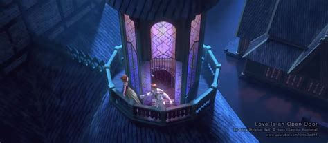 film frozen love is an open door one of the songs in frozen is actually a giant montage of