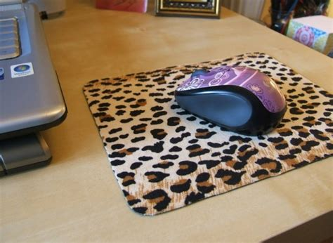 Print Mouse Mat by Craft Of The Day Leopard Print Mouse Pad Huffpost