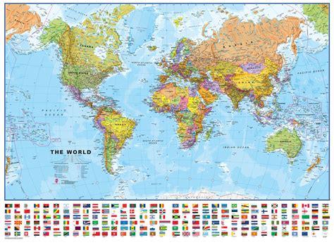 flat world map image flat map of the world deboomfotografie