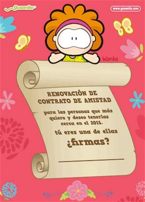 contrato de amistad 174 best wamba images on pinterest love cards love