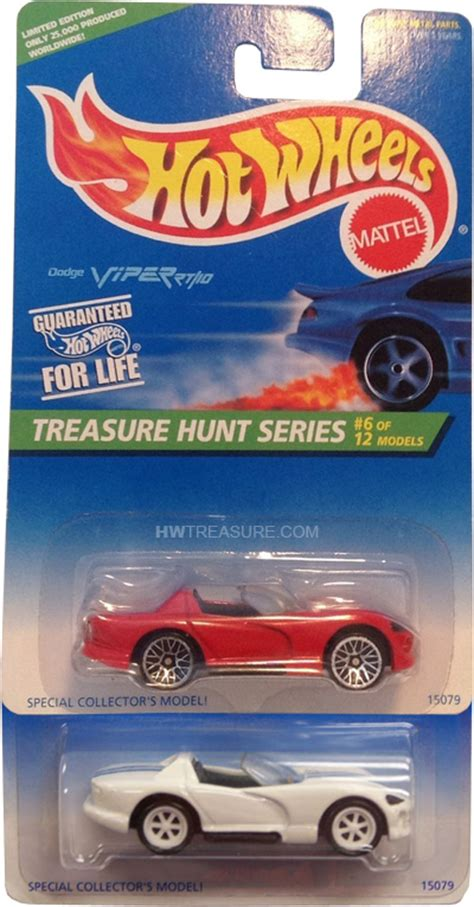 Wheels Hotwheels Dodge Viper Rt 10 dodge viper rt 10 wheels 1996 treasure hunt hwtreasure