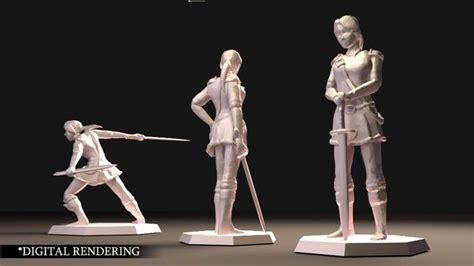 3d Printing Character Models
