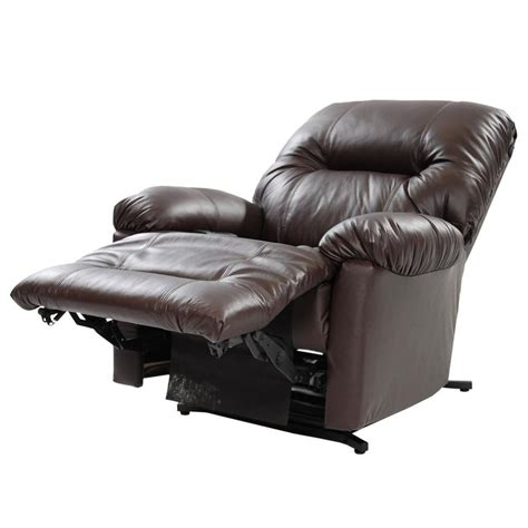 leather power lift recliners wynette brown power lift leather recliner el dorado