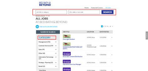 bed bath and beyond online application how to apply for bed bath and beyond jobs online at