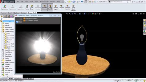 solidworks rendering and visualization tutorial solidworks 2015 rendering and visualization creating a