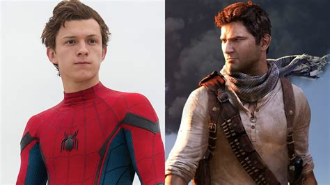 uncharted film 2017 tom holland cast as nathan drake in sony s uncharted movie