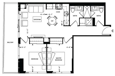 169 fort york blvd floor plans librarydistrict chaucer ii 2bdr 742sqft library district condominiums at 170 fort york boulevard